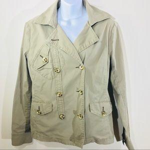 CAbi 904 Rip Stop Military Safari Jacket size M
